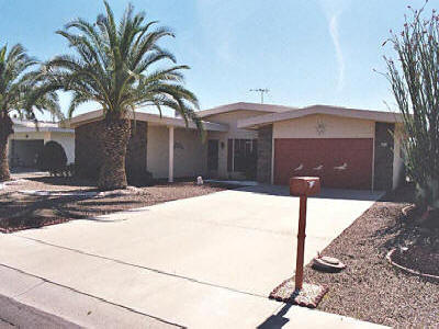 Sun City, AZ house for rent.